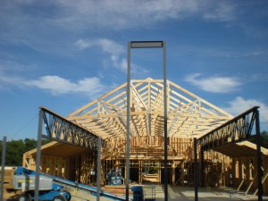 18Sep13 roof trusses complete (1)