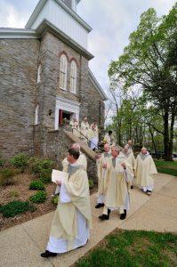 St. Joseph-on-Carrollton-Manor new church dedication