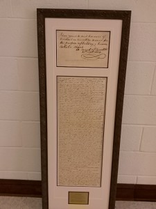 Framed parish charter (Feb15)