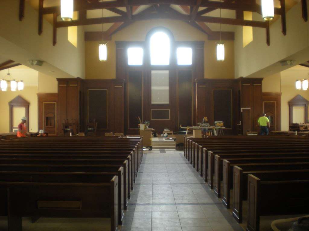, New Church, St. Joseph-on-Carrollton Manor Catholic Church