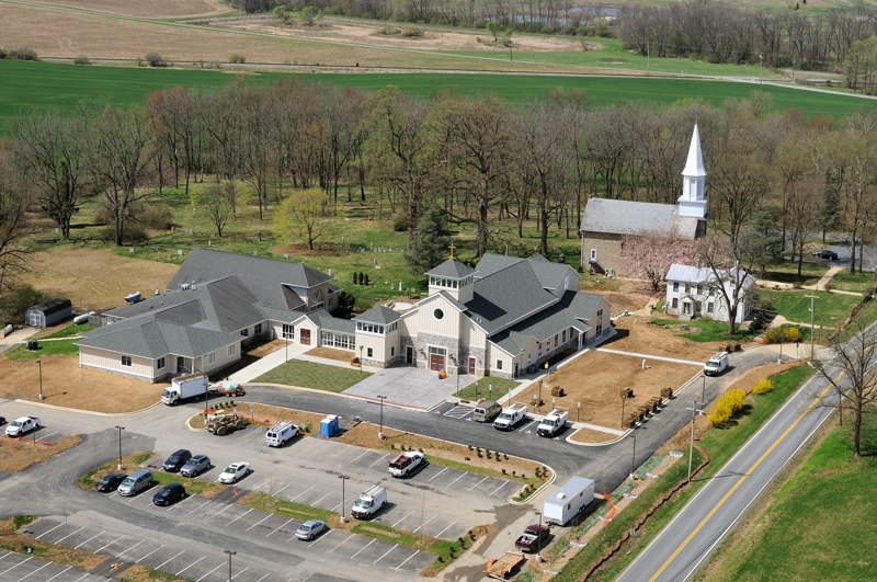 St. Joseph's Church aerials