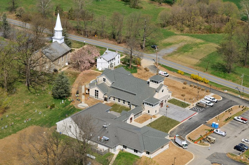 St. Joseph's Church aerials