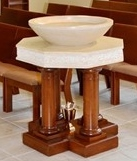, Baptism, St. Joseph-on-Carrollton Manor Catholic Church, St. Joseph-on-Carrollton Manor Catholic Church