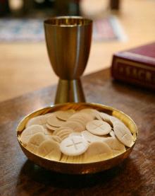 , Eucharist, St. Joseph-on-Carrollton Manor Catholic Church