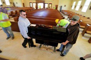 Piano delivery