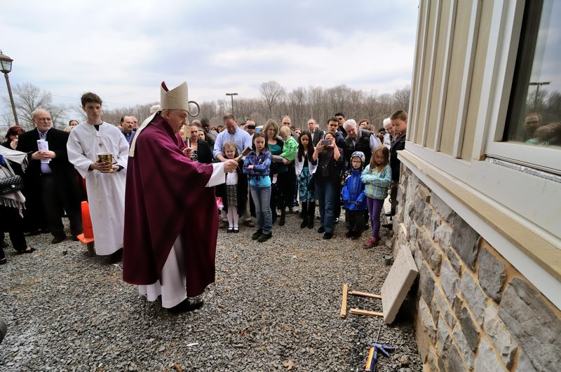 St. Joseph's Church cornerstone dedication