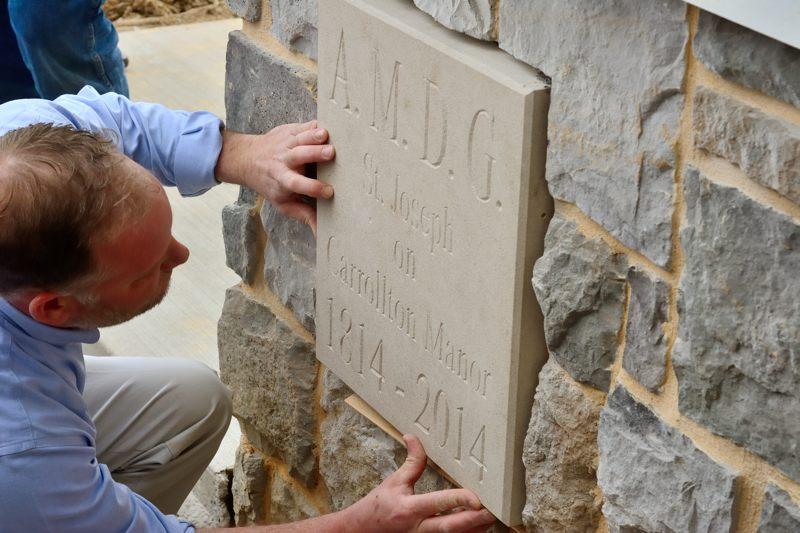 St. Joseph's Church cornerstone dedication