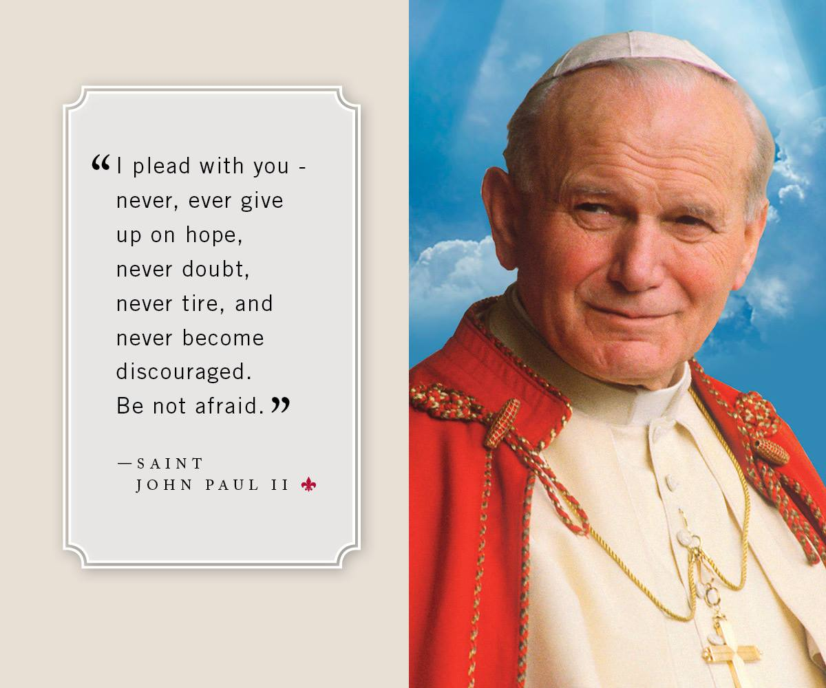 Feast Day Of Saint John Paul Ii St Joseph On Carrollton