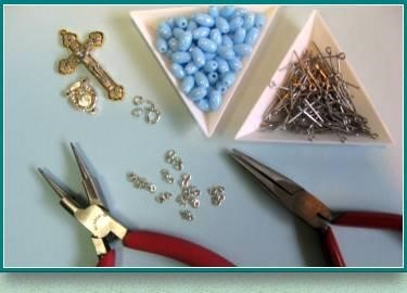 , Rosary Making, St. Joseph-on-Carrollton Manor Catholic Church