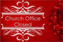 , Holiday Office and Daily Mass Schedule, St. Joseph-on-Carrollton Manor Catholic Church, St. Joseph-on-Carrollton Manor Catholic Church