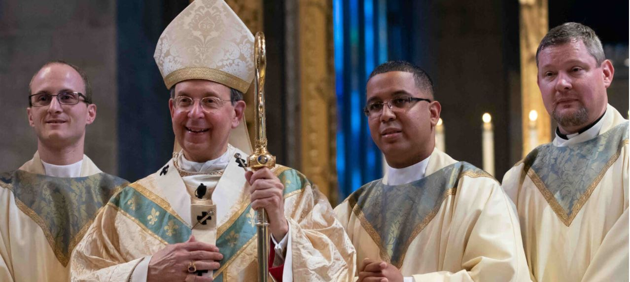 , Welcome Father John!, St. Joseph-on-Carrollton Manor Catholic Church