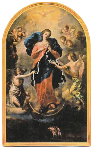 , Mary Undoer of Knots, St. Joseph-on-Carrollton Manor Catholic Church, St. Joseph-on-Carrollton Manor Catholic Church
