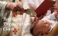 Baptism Prep Class