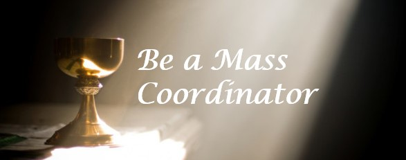, Be a Mass Coordinator, St. Joseph-on-Carrollton Manor Catholic Church, St. Joseph-on-Carrollton Manor Catholic Church