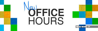 , New Office Hours, St. Joseph-on-Carrollton Manor Catholic Church, St. Joseph-on-Carrollton Manor Catholic Church