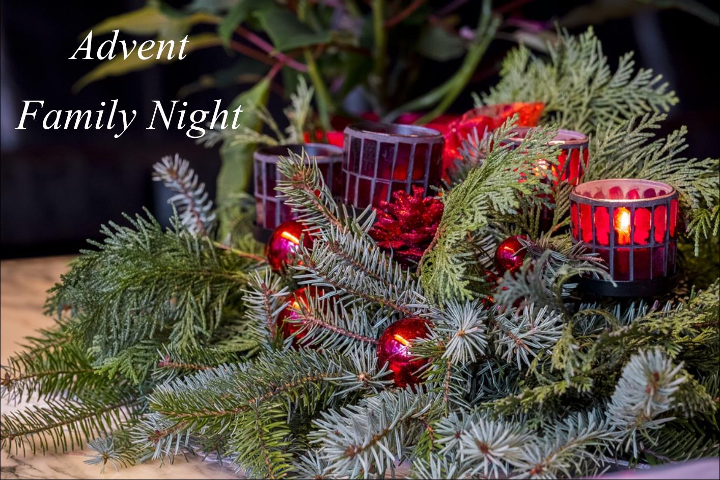 , Advent Family Night, St. Joseph-on-Carrollton Manor Catholic Church