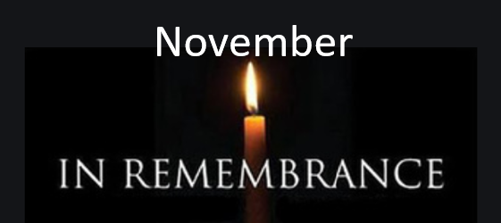 , November Month of Remembrance, St. Joseph-on-Carrollton Manor Catholic Church