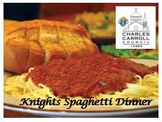 , Knights Spaghetti Dinner, St. Joseph-on-Carrollton Manor Catholic Church, St. Joseph-on-Carrollton Manor Catholic Church