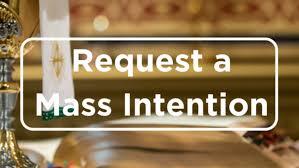 Request a Mass Intention